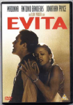 EVITA - UK & EUROPEAN DVD FILM